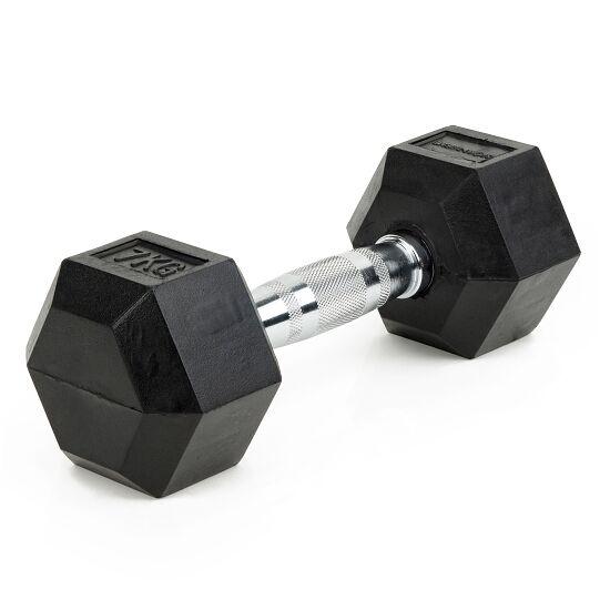 Sport-Thieme Kurzhantel Gummi Hex 7 kg