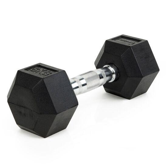 Sport-Thieme Kurzhantel Gummi Hex 8 kg