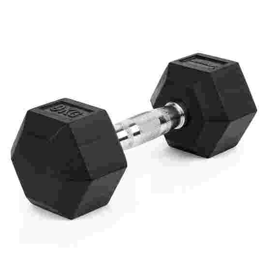 Sport-Thieme Kurzhantel Gummi Hex 9 kg