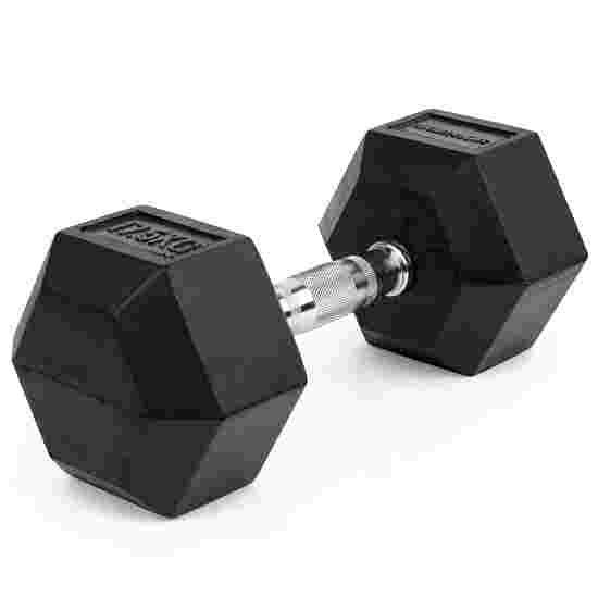 Sport-Thieme Kurzhantel Gummi Hex 17,5 kg