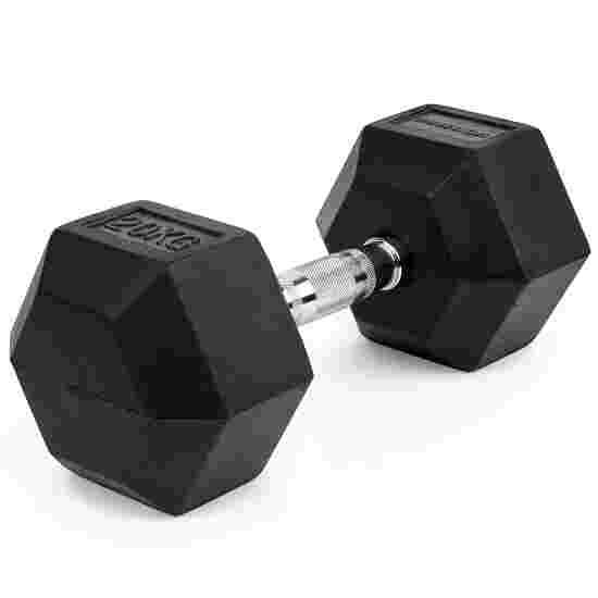 Sport-Thieme Kurzhantel Gummi Hex 20 kg