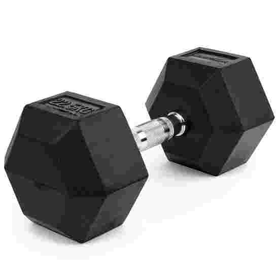 Sport-Thieme Kurzhantel Gummi Hex 22,5 kg