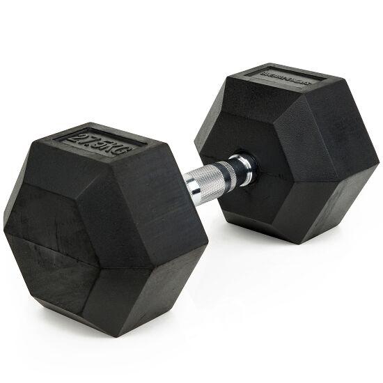 Sport-Thieme Kurzhantel Gummi Hex 27,5 kg