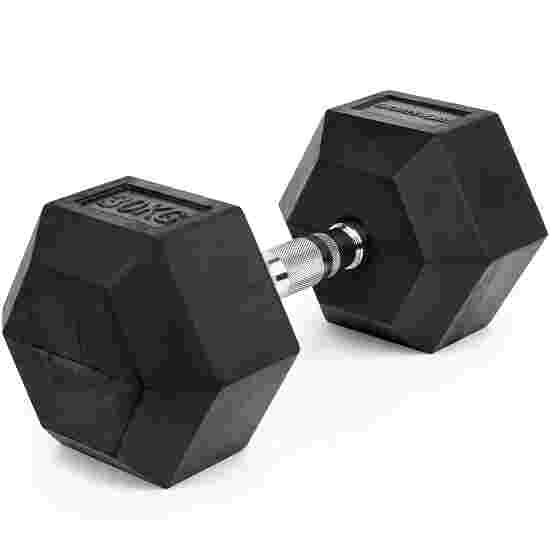 Sport-Thieme Kurzhantel Gummi Hex 30 kg