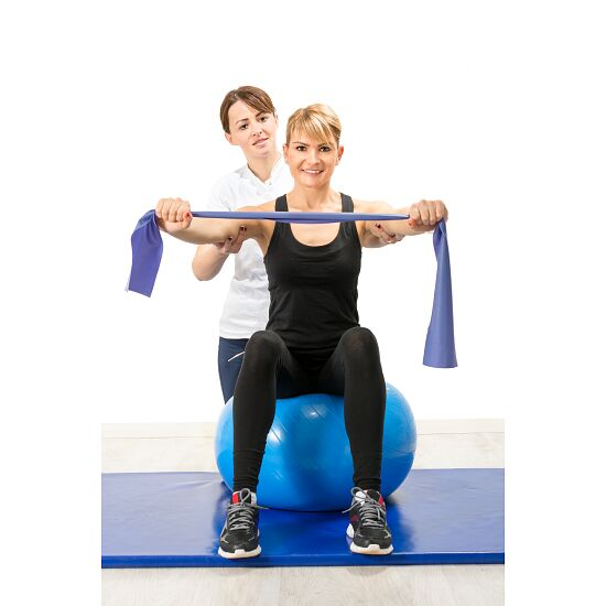 Sport-Thieme® Latexfreies Fitnessband Blau, stark