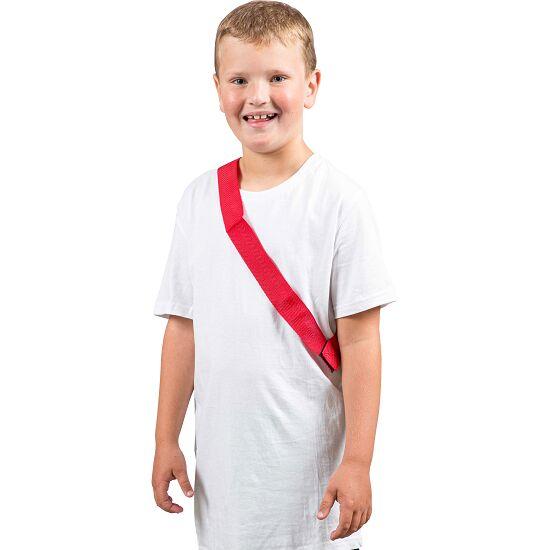 Sport-Thieme Mannschaftsband Kinder, L: 55 (110) cm, Rot