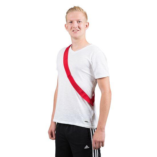 Sport-Thieme Mannschaftsband Erwachsene, L: 65 (130) cm, Rot