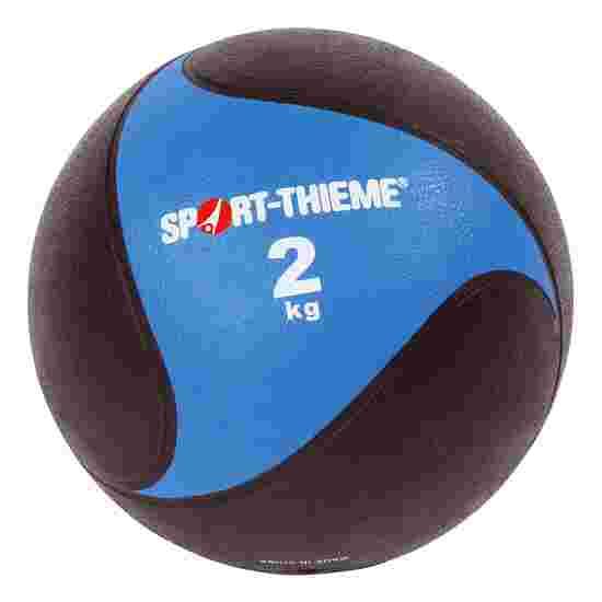 Sport-Thieme Medizinball aus Gummi 2 kg, ø 22 cm