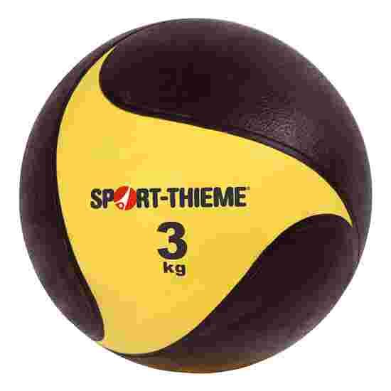 Sport-Thieme Medizinball aus Gummi 3 kg, ø 22 cm