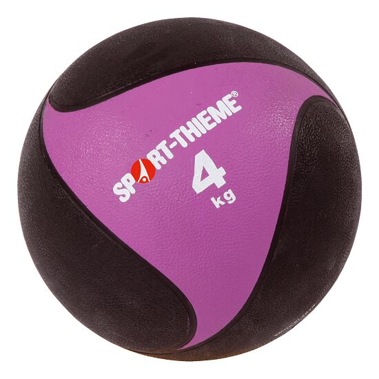 Sport-Thieme® Medizinball aus Gummi 4 kg, ø 24 cm