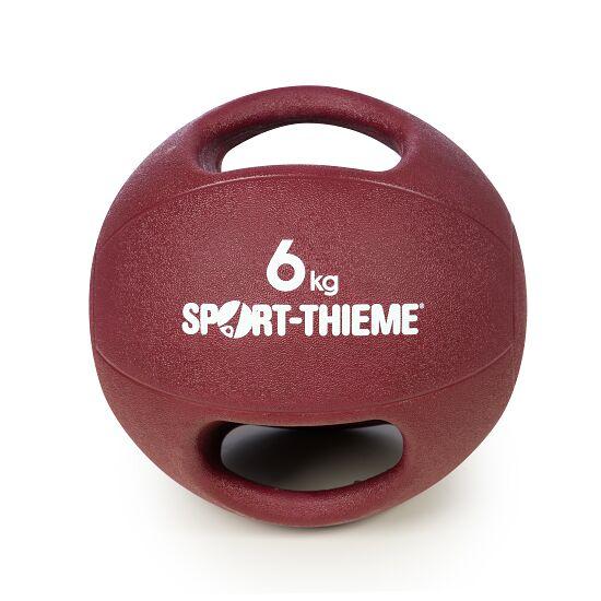 Sport-Thieme Medizinball  mit Griff 6 kg, Bordeaux