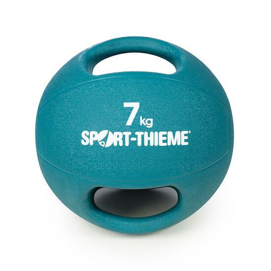 Sport-Thieme Medizinball  mit Griff 7 kg, Hellblau