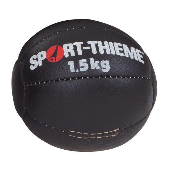 "Sport-Thieme Medizinball  ""Schwarz"" 1,5 kg, ø 19 cm"