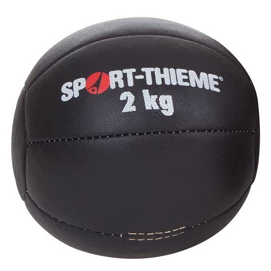 "Sport-Thieme® Medizinball ""Schwarz"" 2 kg, ø 21 cm"