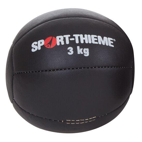 "Sport-Thieme® Medizinball ""Schwarz"" 3 kg, ø 22 cm"