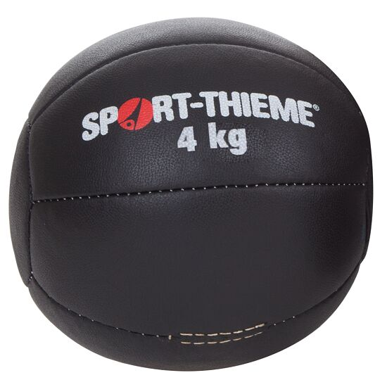 "Sport-Thieme® Medizinball ""Schwarz"" 4 kg, ø 25 cm"