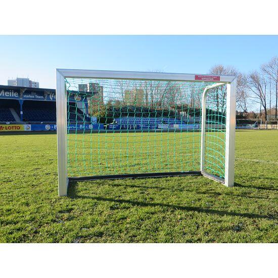 Sport-Thieme Mini Football Goal with PlayersProtect 1.20x0.80 m, Incl. net, green (mesh width 10 cm)