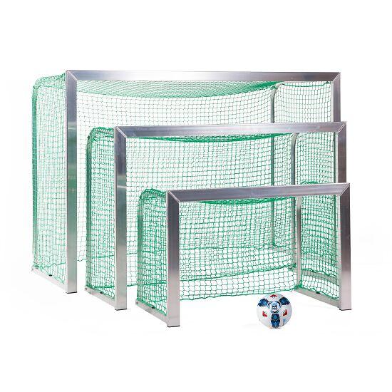Sport-Thieme® Mini-Fußballtor, mit anklappbaren Netzbügeln 1,20x0,80 m, Tortiefe 0,70 m, Inkl. Netz, grün (MW 4,5 cm)