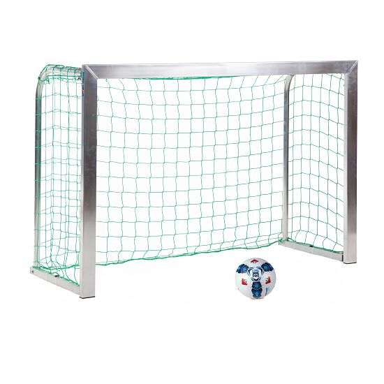 Sport-Thieme® Mini-Fußballtor, mit anklappbaren Netzbügeln 1,80x1,20 m, Tortiefe 0,70 m, Inkl. Netz, grün (MW 10 cm)