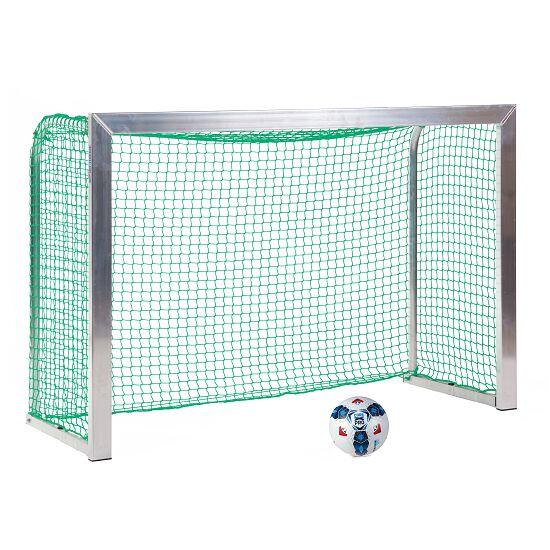 Sport-Thieme® Mini-Fußballtor, mit anklappbaren Netzbügeln 1,80x1,20 m, Tortiefe 0,70 m, Inkl. Netz, grün (MW 4,5 cm)