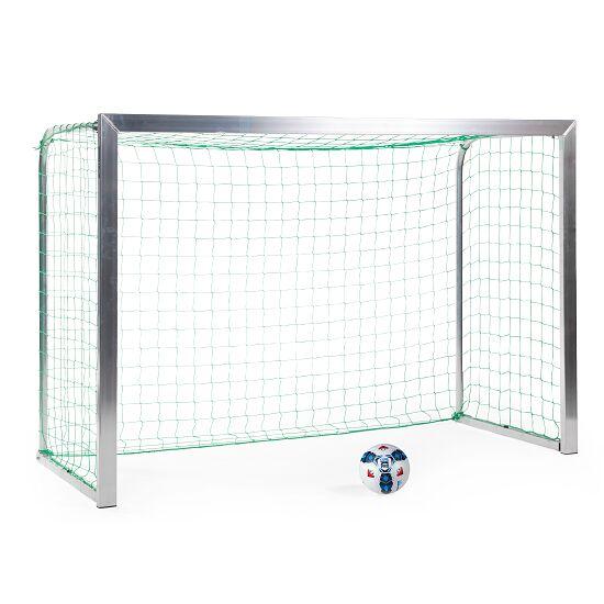 Sport-Thieme® Mini-Fußballtor, mit anklappbaren Netzbügeln 2,40x1,60 m, Tortiefe 1,00 m, Inkl. Netz, grün (MW 10 cm)