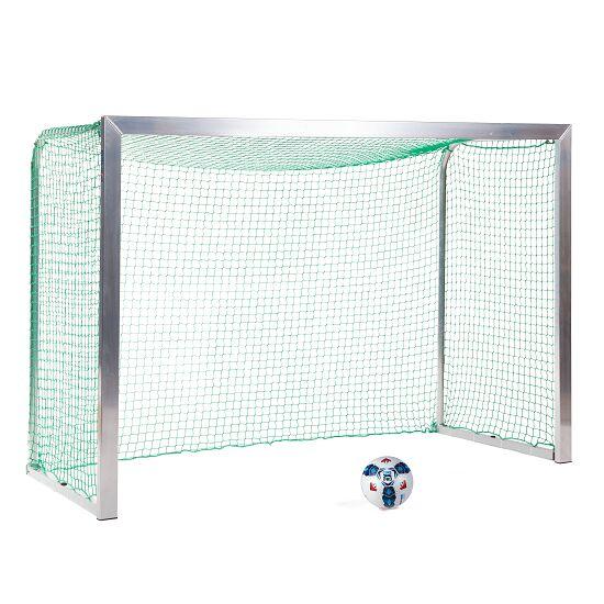Sport-Thieme® Mini-Fußballtor, mit anklappbaren Netzbügeln 2,40x1,60 m, Tortiefe 1,00 m, Inkl. Netz, grün (MW 4,5 cm)