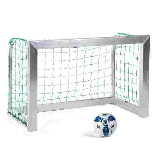 Sport-Thieme Mini-Fußballtor, vollverschweißt 1,20x0,80 m, Tortiefe 0,70 m, Inkl. Netz, grün (MW 10 cm)