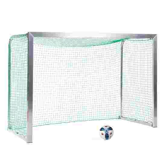 Sport-Thieme Mini-træningsmål med sammenklappelige netbøjler 2,40x1,60 m, Måldybde 1,00 m, Inkl. net, grøn (maskestr. 4,5 cm)