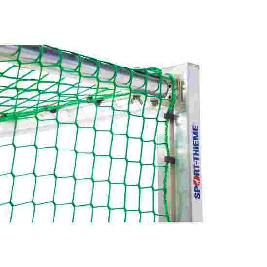 Sport-Thieme Mini Training Goal with Folding Net Brackets 1.20x0.80 m, goal depth 0.70 m, Incl. net, green (mesh width 10 cm)