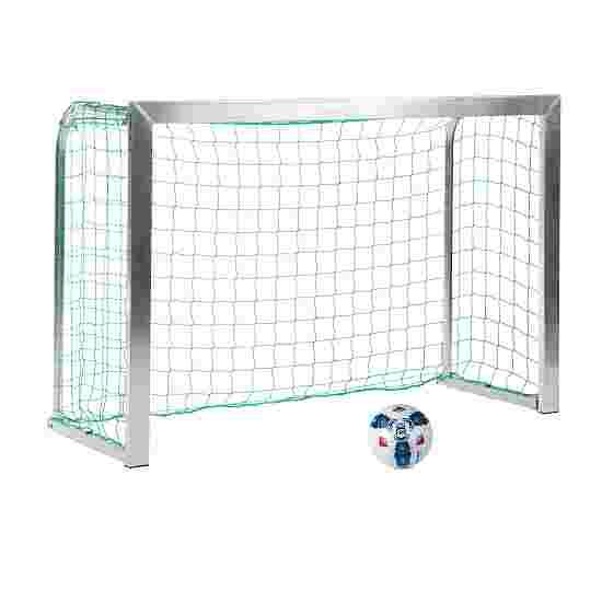 Sport-Thieme Mini Training Goal with Folding Net Brackets 1.8x1.2 m, goal depth 0.7 m, Incl. net, green (mesh width 10 cm)