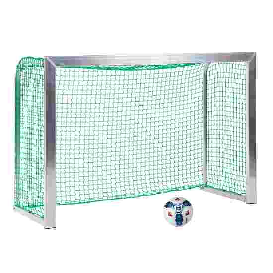 Sport-Thieme Mini Training Goal with Folding Net Brackets 1.80×1.20 m, goal depth 0.70 m, Incl. net, green (mesh width 4.5 cm)