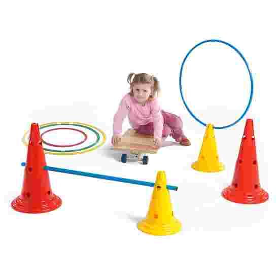 Sport-Thieme Multi-Purpose Cone Yellow, 30 cm, 8 holes
