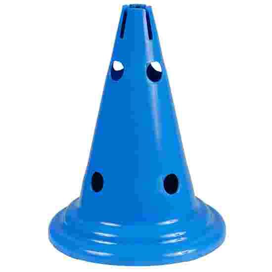 Sport-Thieme Multi-Purpose Cone Blue, 30 cm, 8 holes