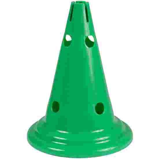Sport-Thieme Multi-Purpose Cone Green, 30 cm, 8 holes