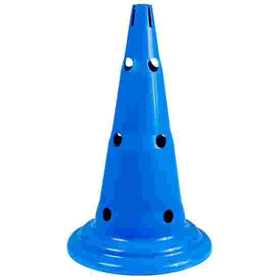 Sport-Thieme Multi-Purpose Cone Blue, 50 cm, 12 holes
