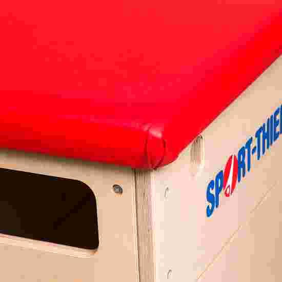 "Sport-Thieme ""Multiplex"" 5-Part Vaulting Box Without swivel castor kit, Leather cover"