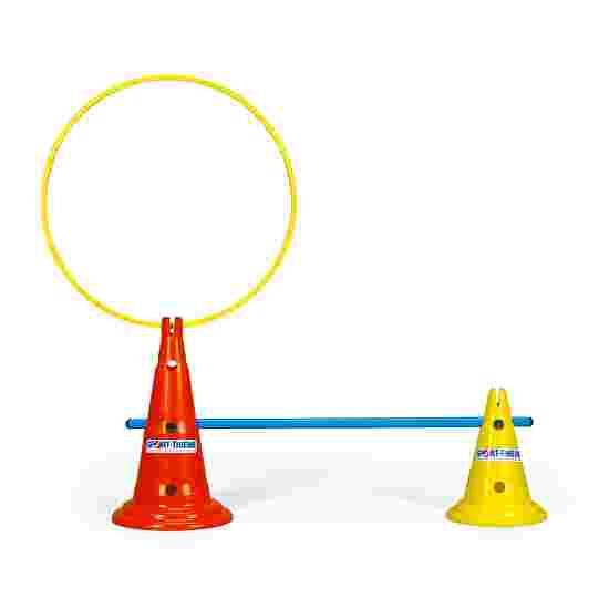 Sport-Thieme Multipurpose Cone Yellow, 30 cm, 8 holes