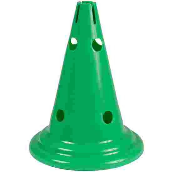Sport-Thieme Multipurpose Cone Green, 30 cm, 8 holes