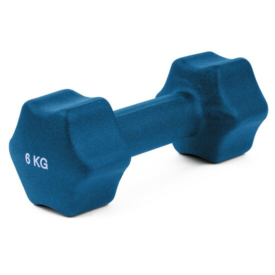 Sport-Thieme Neoprene Dumbbell 6 kg, blue