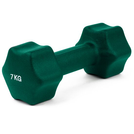 Sport-Thieme Neoprene Dumbbell 7 kg, dark green
