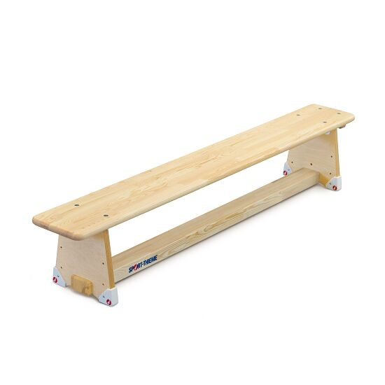 "Sport-Thieme® ""Original"" Gymnastics Bench 2 m, DIN 7909, Without castors"