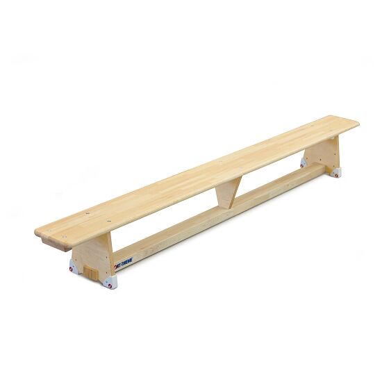 "Sport-Thieme ""Original"" Gymnastics Bench 3 m, DIN 7909, Without castors"