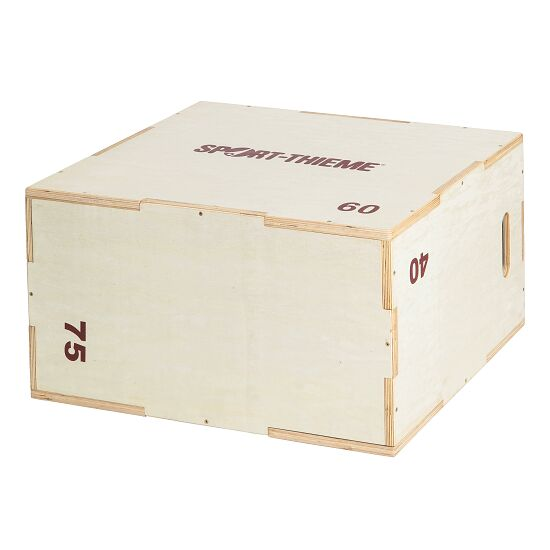 Sport-Thieme® Plyo Box Holz 40x60x75 cm