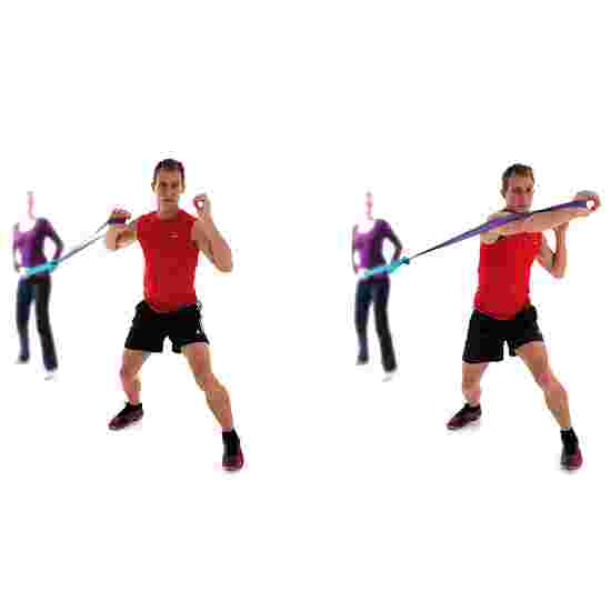 "Sport-Thieme Powerband ""Jumpstretch"" Orange, ultra stark"