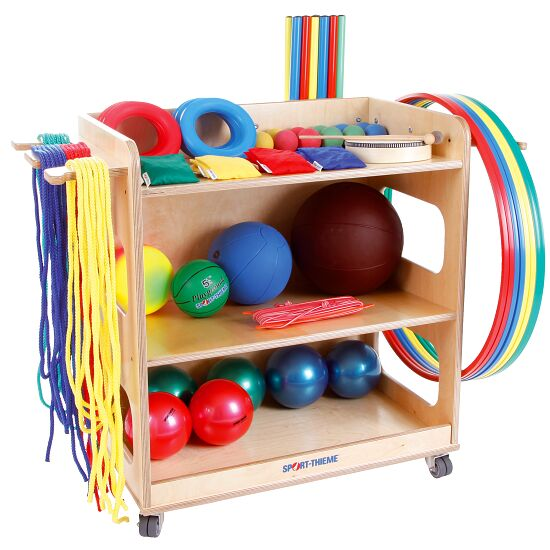 Sport-Thieme Preschool and Primary School Set With storage trolley