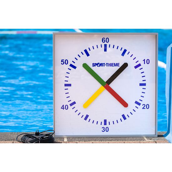 """Sport-Thieme """"Prima Super"""" Training Clock 90×90 cm, to be attached to wall"""