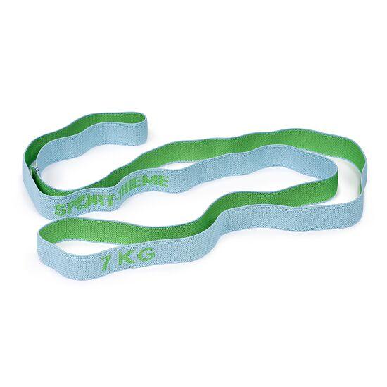 "Sport-Thieme ""Ring"" Elasticated Textile Powerband 7 kg, grey/green"