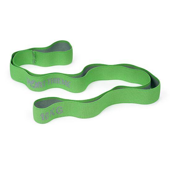 "Sport-Thieme ""Ring"" Elasticated Textile Powerband 10 kg, green/grey"