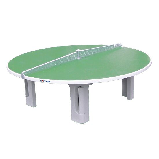 "Sport-Thieme® ""Rondo"" Polymer Concrete Table Tennis Table Green"
