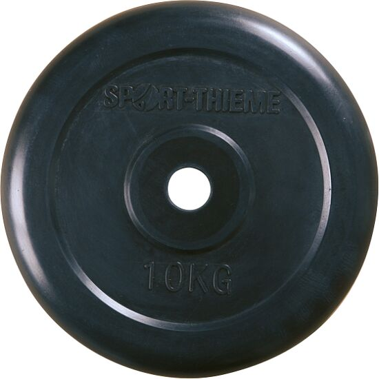 Sport-Thieme® Rubber-Coated Weight Disc 10 kg